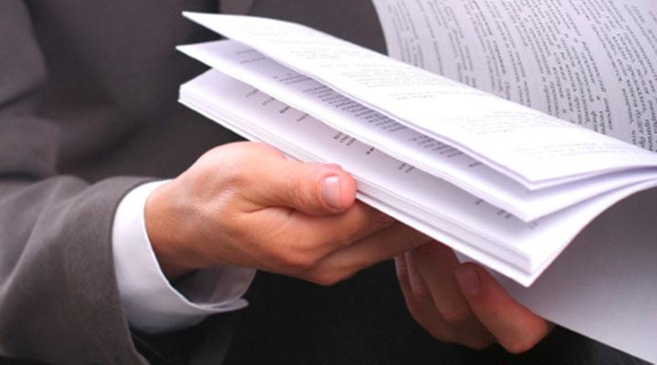 Внимательно проверьте правильность документов