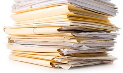 stopka dokumentov