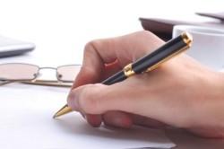 Соглашение о разделе имущества при разводе: образец и бланк