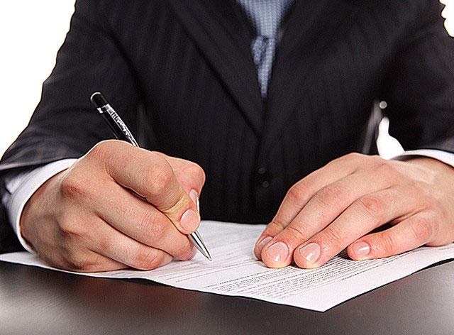 Заполнение наследственных документов