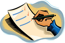 Составление списка необходимых документов для оформление наследства.